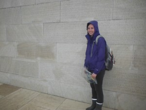 Colleen Molloy at Vimy