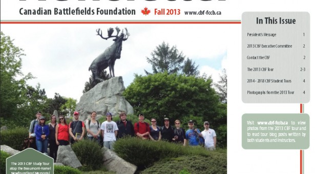 Fall 2013 Newsletter is out!