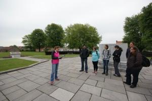 Presenting at Passchendaele