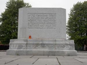 The memorial of Passchendaele