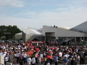 Cérémonie Centre Juno Beach